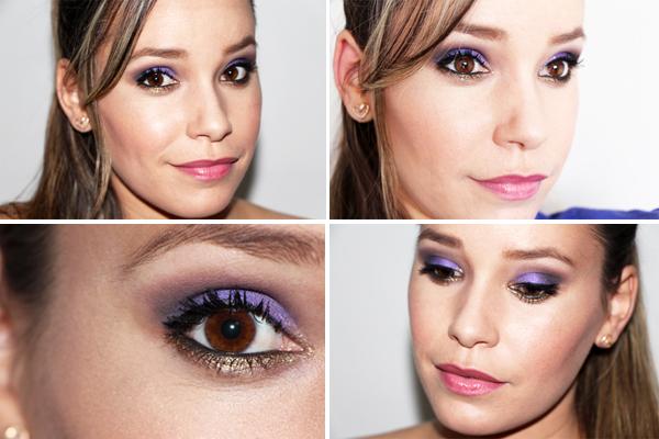 Makeup Flor de Menina